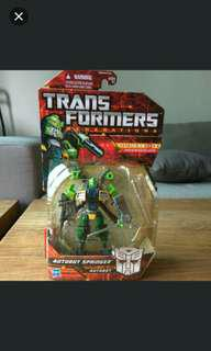 Transformers Springer Deluxe Generations Asia Exclusive New MOSC