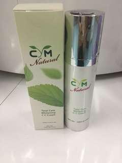 """CC Cream:$330,C C 意思是Color Control, 色彩校正"""", Total Care Whitening C C Cream"""