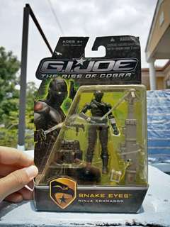 G.I.JOE The Rise Of Cobra Snake Eyes