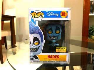 Funko Pop - Hades (Disney) Hot Topic GITD Exclusive
