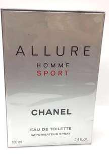 Chanel Allure Homme Sport 100ml Brand new Sealed