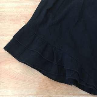 🌟Ruffle detailed shorts