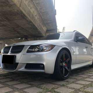 2006年出廠 BMW E91-325 直列六缸 車況優 3.0 少跑 耗材已更換完畢