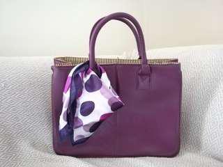 Purple Tote Bag #UNDER90