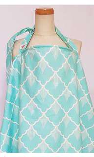 BREASTFEEDING COVER WITH NECKLINE FOR VIEWING BABY