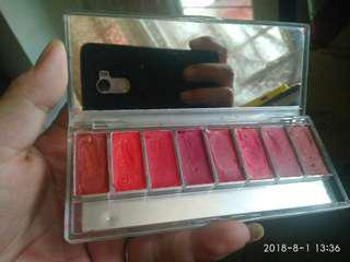 Wardah Lip Palette Perfect Red