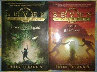SEVEN WONDERS BY PETER LERANGIS