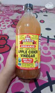BISA BARTER❤ Bragg Apple Cidee Vinegar Share In Bottle