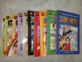 One Piece 1-10