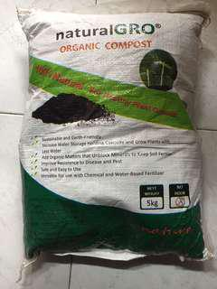 Organic potted soil 5kg