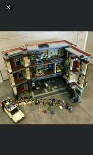 Lego Ghostbusters 21108 75827 Ecto-1 Firehouse Headquarters