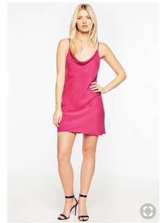 Bardot Pink Strap Slip Tunic Sz 8