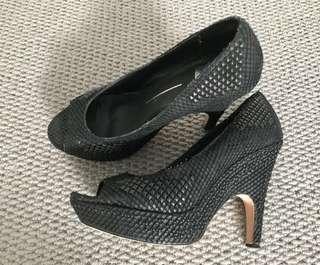 Dolce Vita Black Heels Sz 9