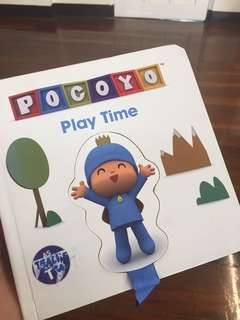 Toddler's book : Pocoyo Play time