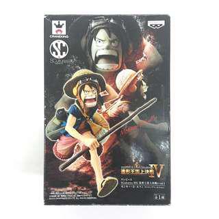 Japan Banpresto Figure Colosseum 4 Vol.1 Onepiece SCultures Big Monkey D Luffy MISB