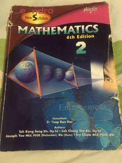 Shinglee New Syllabus Mathematics 6th Edition 2 Textbook