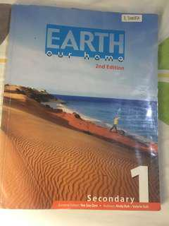 Earth Our Home 2nd Edition Secondary 1 Textbook