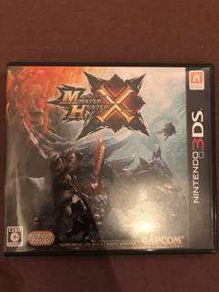 3DS Monster Hunter X