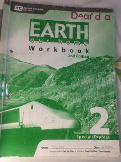 Earth Our Home 2nd Edition 2 (Special/Express) Workbook