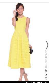 Love bonito covet Dael eyelet Midi dress
