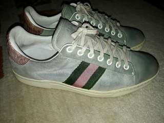 Gucci Suede Sneakers Authentic