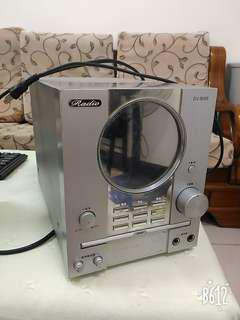 DVD組合音響 只有主機,沒有喇叭