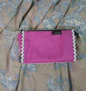 Purple PokaDot Lancome Paris Makeup Bag