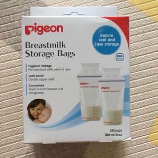 BN Pigeon breastmilk storage bags