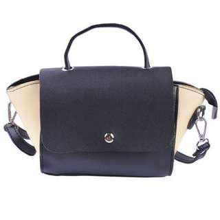 Korean Sling Bag black