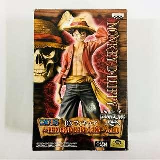 Japan Banpresto One Piece DX The Grandline Men Vol.10 Monkey D Luffy MISB