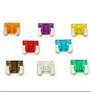 Micro Assorted Auto Car Low Profile Mini Blade Fuse