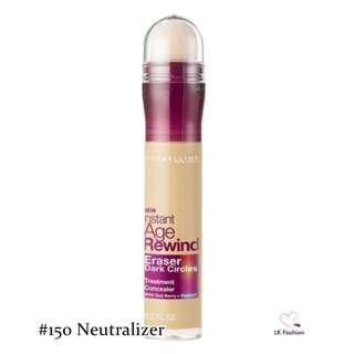 🚚 💕 Instock 💕 Maybelline Instant Age Rewind Eraser Dark Circles Treatment Concealer 💋 #150 Neutralizer 💋