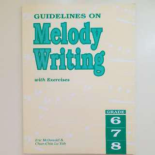 Guidelines on Melody Writing - ABRSM theory Grade 8