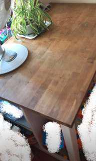 Ikea Table/ kitchen island / 餐枱