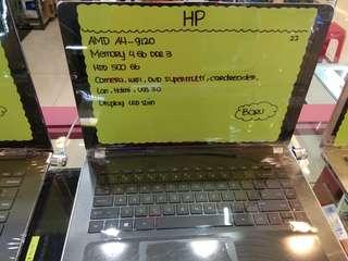 Laptop HP Amd A4-9120 Bisa Di Kredit Daerah Tangerang
