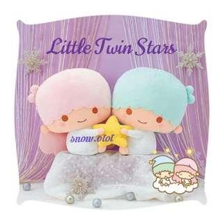 日版Little Twin Stars公仔☆BIG! 日本限定 Sanrio/雙星仙子/双子星/plush/soft toy/kids doll/cushion