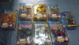 Marvel Legends Toybiz Lot of 9