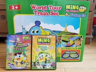 火車玩具 Ming the Minibus & Friends(全新)