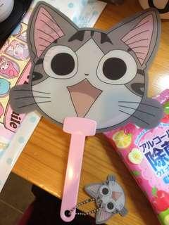 日本西瓜貓 扇 fan cat