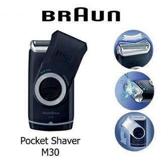 🚚 Braun M30 Mobile Electric Shaver Smart Foil