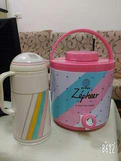 茶桶冰桶與茶壺