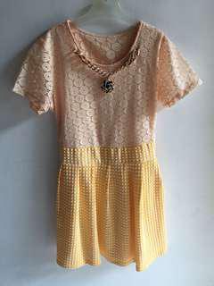 Dress kuning bangkok