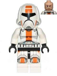 Lego Republic trooper Minifigure