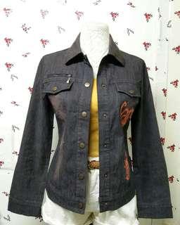 Denim Cotton Brown Jacket