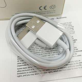 100% Genuine APPLE 30pin cable