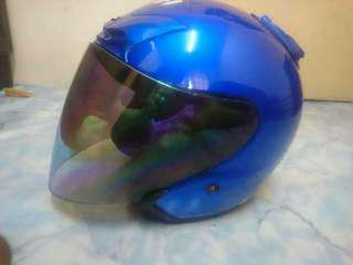 SHOEI JFORCE 2 BLUE GLOSSY