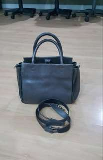 Rabeanco Gray Bag with Long Strap (SALE from 3,800)