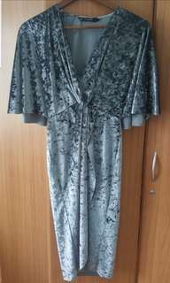 Zara Velvet Dress (XS) from 450