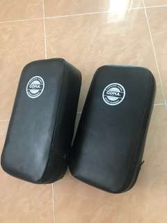 ( ENGLISH ONLY - NO BARGAINING ) Goma Boxing Pads