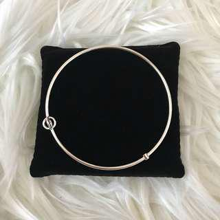 Country Road Silver Bangle